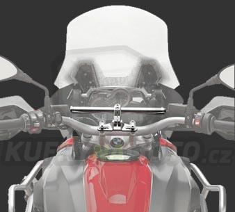 Montážní sada – nosič držák navigace smart bar Kappa Yamaha TDM 900 2002 – 2014 K2615-05SKIT