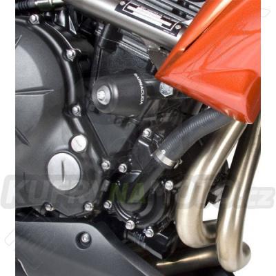 PADACÍ PROTEKTORY - NÁHRADNÍ ŠPUNTY PVC pár Barracuda Kawasaki ER 6 650 N 2009 - 2011
