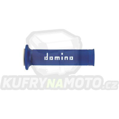 Rukojeti gripy Domino Tommaselli silnice racing soft barva modrá bílá