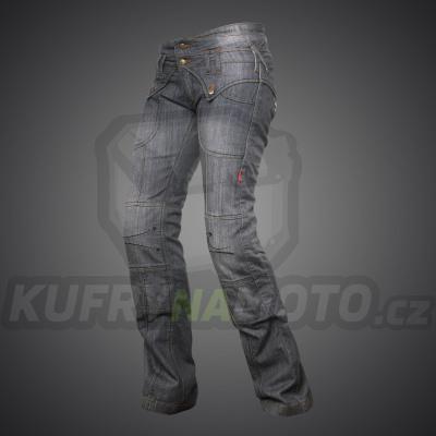 4SR moto kevlar jeans JEANS LADY STAR GREY