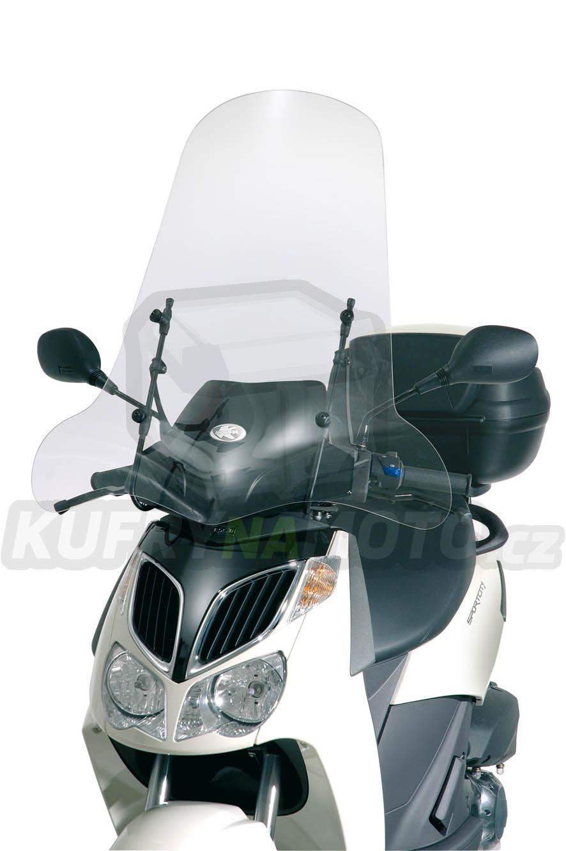 Montážní sada – držák pro plexisklo Kappa Aprilia Sportcity 250 2004 – 2008 K2163-A129A