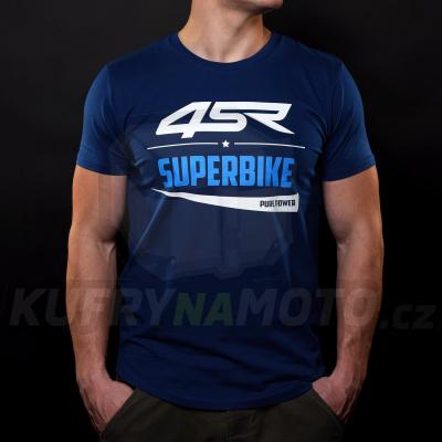 4SR moto TRIČKO SUPERBIKE BLUE
