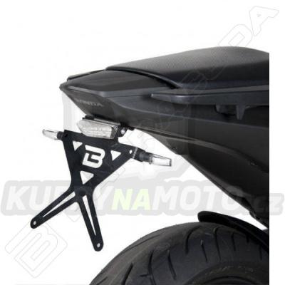 KIT a SKLOPNÝ DRŽÁK SPZ Barracuda Honda NC 700 S 2012 - 2014