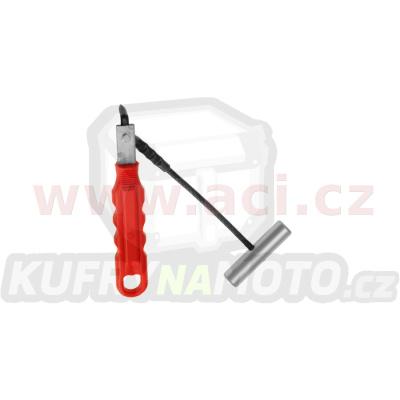 ruční nůž na vyřezávání autoskel s rukojetí
