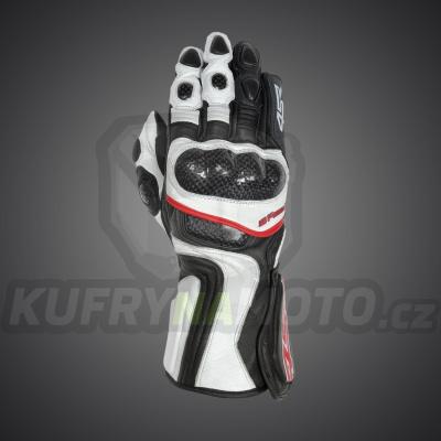 4SR moto rukavice SR 001 WHITE