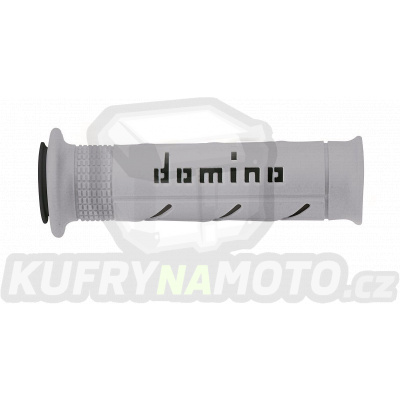 Rukojeti gripy Domino Tommaselli silnice racing XM2 XM2 Super Soft barva šedá černá