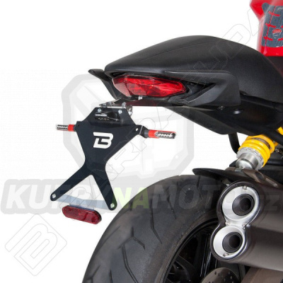 SKLOPNÝ DRŽÁK SPZ Barracuda Ducati Monster 821 všechny r.v.