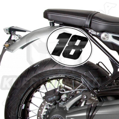 Číslo 7 Barracuda BMW R nine T 1200 Pure všechny r.v.