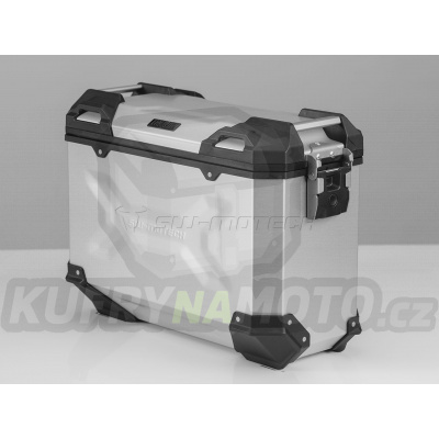 Hliníkový kufr boční TRAX Adventure 37 litrů stříbrný pravý TRAX ADV M SW Motech ALK.00.733.11000R/S