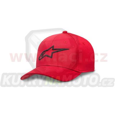 kšiltovka AGELESS, ALPINESTARS (červená/černá)