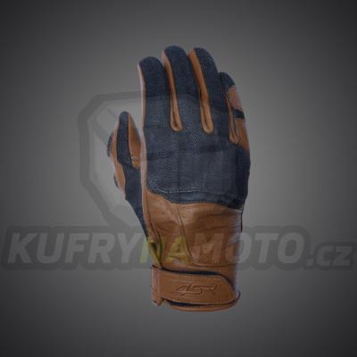4SR moto rukavice CAFE LATTE