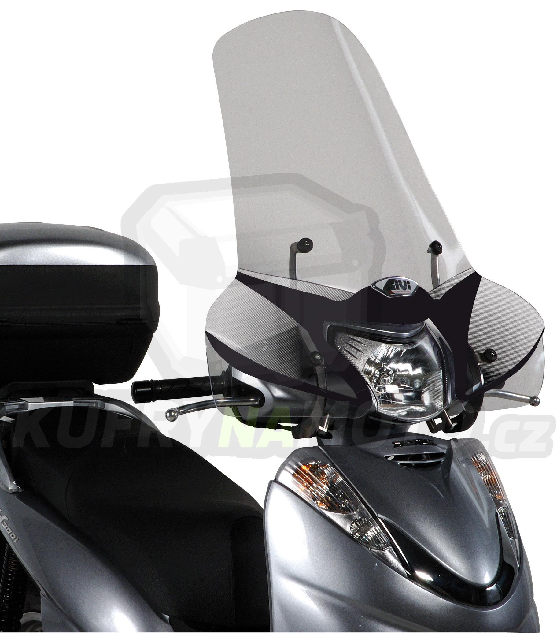 Plexisklo Kappa Honda SH 300 i 2007 – 2010 K2332-307A