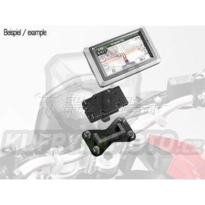 GPS držák pro moto Quick lock černá SW Motech Suzuki SV 1000 2003 - 2005 WVBX GPS.00.646.10100/B-BC.72