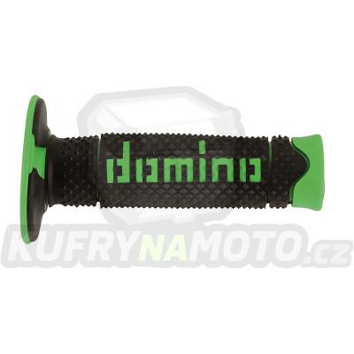 Rukojeti gripy Domino Tommaselli off road D.S.H. barva černá zelená