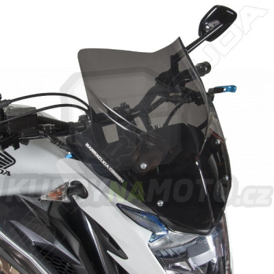 Plexisklo štít AEROSPORT Barracuda Honda CB 500 F 2016 - 2017