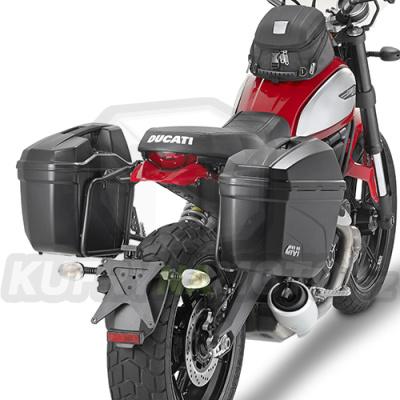 Montážní sada držák – nosič kufru bočních Kappa Ducati Scrambler 800 2015 – 2017 K1019-KL7407
