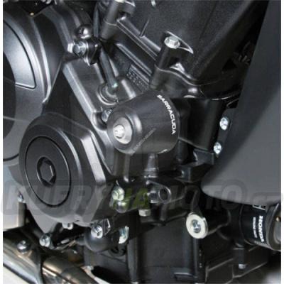 HLINÍKOVÉ NÁHRADNÍ HLAVY PADACÍCH PROTEKTORŮ - ZLATÁ pár Barracuda Honda Hornet 600 2011 – 2013