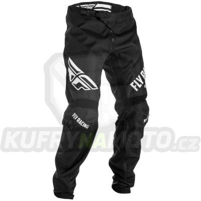 kalhoty MTB, FLY RACING (černá/bílá)