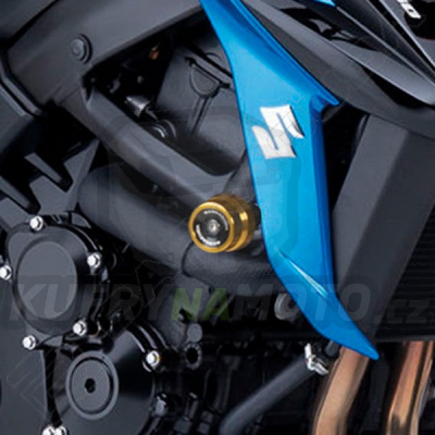 PADACÍ PROTEKTORY - NÁHRADNÍ ŠPUNTY PVC pár Barracuda Suzuki GSX S 750 všechny r.v.