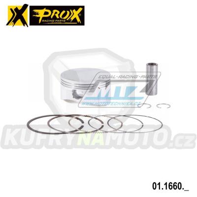 Píst Honda XR650L + NX650 Dominátor + SLR650 + FMX650 - pro vrtání 101,00mm
