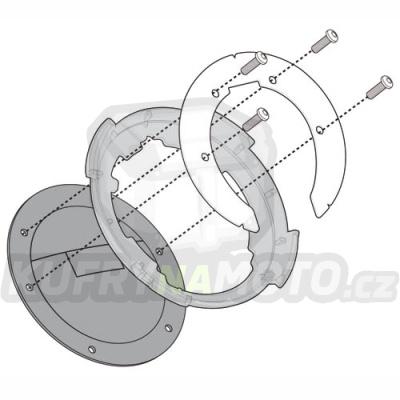 Montážní sada – nosič držák tankvaku Tanklock Givi Ducati Multistrada 1200 2013 - 2014 G1746- BF 11