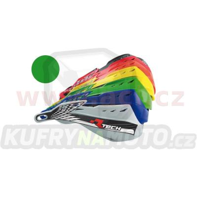 plasty krytů páček GLADIATOR ALU + EASY, RTECH (zelené, pár)