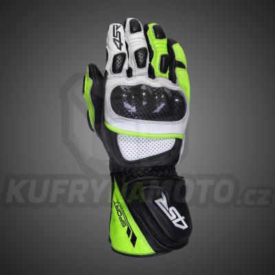 4SR moto rukavice SPORT CUP II REFLEX GREEN