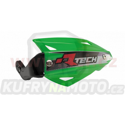 kryty páček VERTIGO ATV, RTECH (zelené, vč. montážní sady)