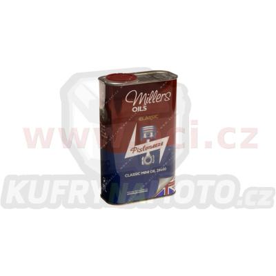 MILLERS OILS Classic Mini Oil Pistoneeze 20W50, olej pro společnou olejovou vanu motor, převodovka, pro klasické Mini 1 l