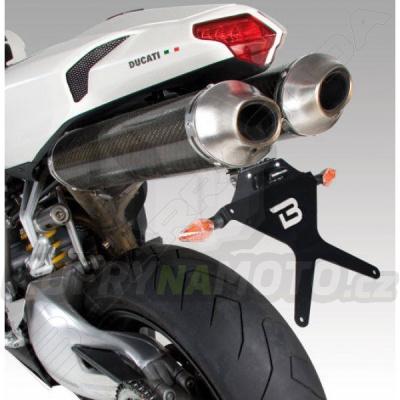 SKLOPNÝ DRŽÁK SPZ Barracuda Ducati 848 všechny r.v.