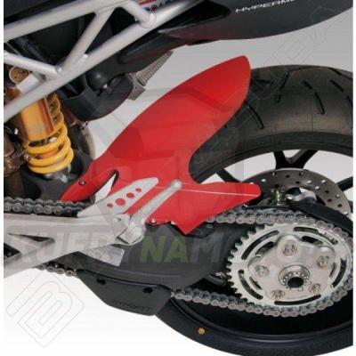 ZADNÍ BLATNÍK ČERVENÝ Barracuda Ducati Hyper Motard 1100 všechny r.v.