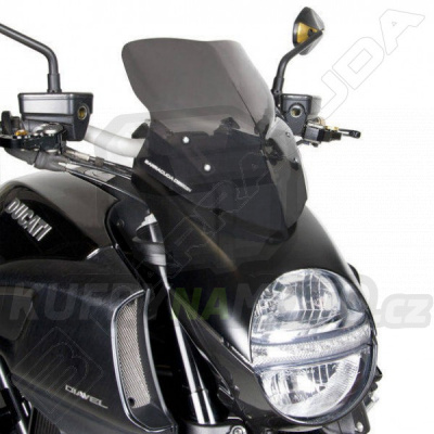 Plexisklo štít AEROSPORT Barracuda Ducati Diavel 1200 2010 - 2016