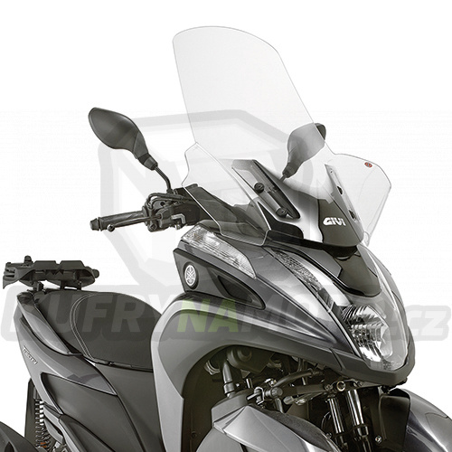 Plexisklo Kappa Yamaha Tricity 125 2014 – 2017 K2395-2120DT