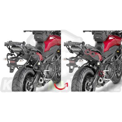 Montážní sada držák – nosič kufru bočních Kappa Yamaha MT09 850 Tracer 2015 – 2017 K906-KLXR2122