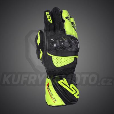 4SR moto rukavice SPORT CUP PLUS YELLOW