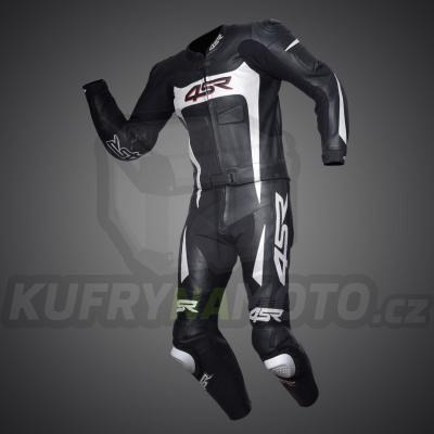 4SR moto kombinéza SPEED BLACK – WHITE