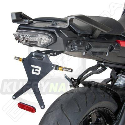 SKLOPNÝ DRŽÁK SPZ Barracuda Yamaha MT - 09 850 Tracer 2016 – 2017