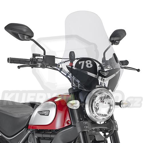 Plexisklo Kappa Ducati Scrambler 800 2015 – 2017 K2215-7407AS