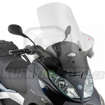 Plexisklo Kappa Piaggio MP3 300 ie Sport Do 2014 K1225-KD5601ST
