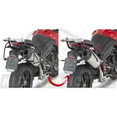 Montážní sada – nosič kufru držák Kappa Triumph Tiger Sport 1050 2013 – 2017 K402-KR6404