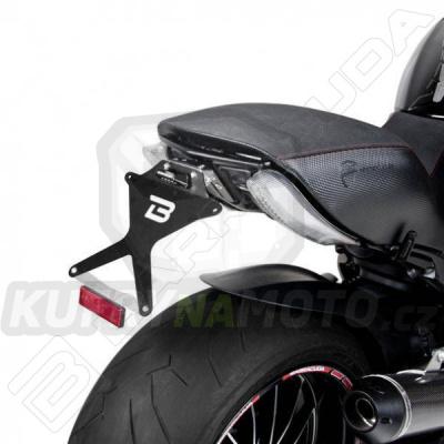 SKLOPNÝ DRŽÁK SPZ Barracuda Ducati Diavel 1200 2010 - 2016