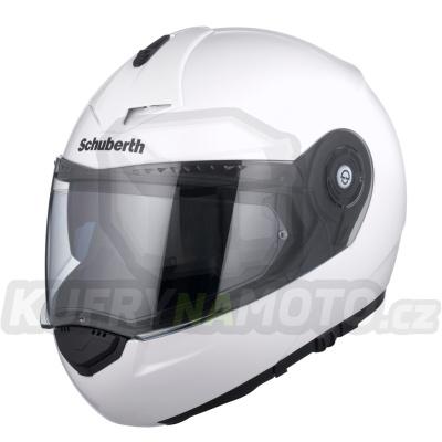 Vyklápěcí přilba SCHUBERTH C3 Pro Glossy White