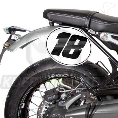 Číslo 6 Barracuda BMW R nine T 1200 Racer všechny r.v.