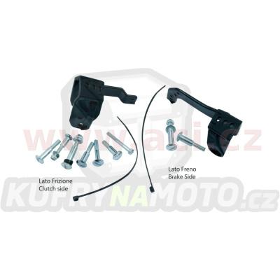 plastový montážní kit na páčku krytů páček FLX / VERTIGO / DUAL EVO, RTECH (černý, pár)