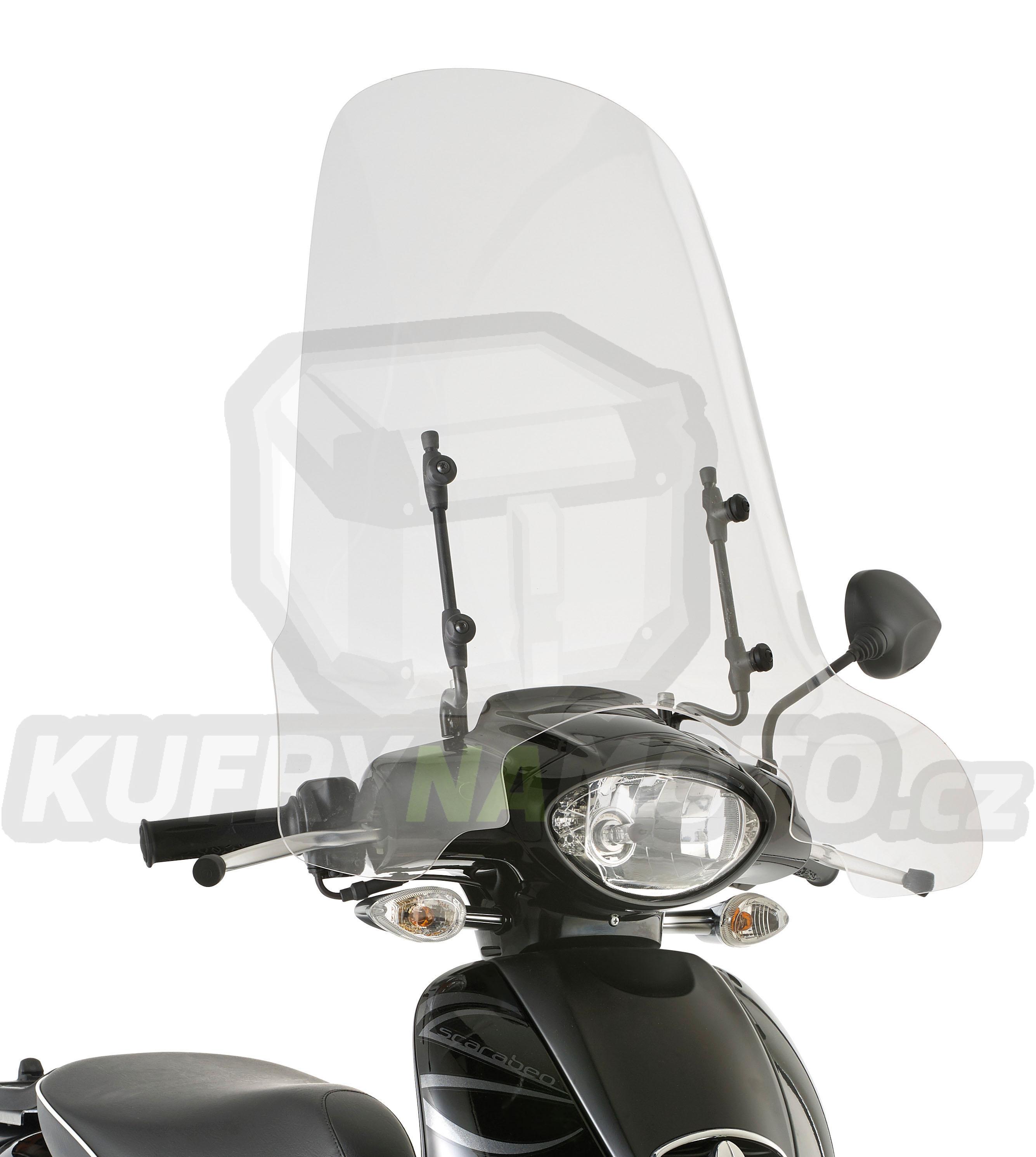 Montážní sada – držák pro plexisklo Kappa Aprilia Scarabeo 100 2009 – 2013 K2035-A6704A