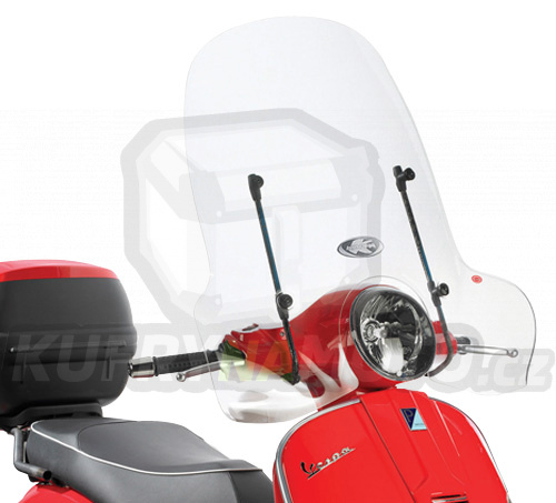 Montážní sada – držák pro plexisklo Kappa Piaggio Vespa 125 Granturismo 2003 – 2008 K2195-A104A