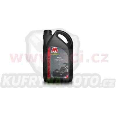 MILLERS OILS KR 2T - olej pro závodní motokáry a další 2T motroy homologace CIK-FIA 5 l
