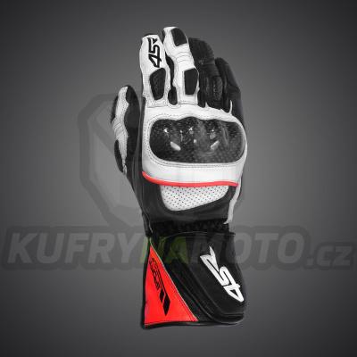 4SR moto rukavice SPORT CUP II REFLEX RED