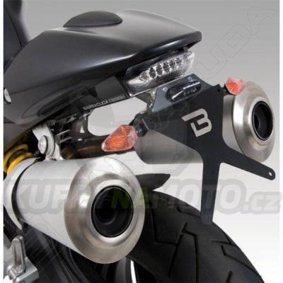 KIT a SKLOPNÝ DRŽÁK SPZ Barracuda Ducati Monster 796 všechny r.v.