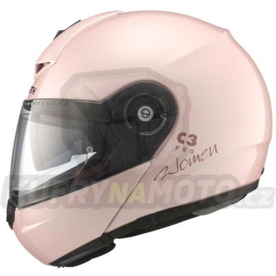 Vyklápěcí dámská přilba SCHUBERTH C3 Pro Women Pearl Pink